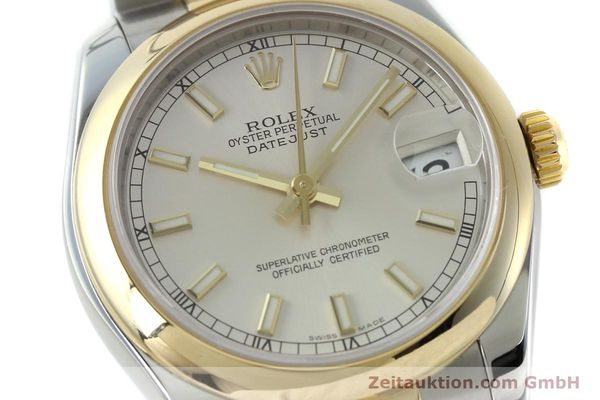 montre de luxe d occasion Rolex Lady Datejust acier / or  automatique Kal. 2235 Ref. 178243  | 151639 02