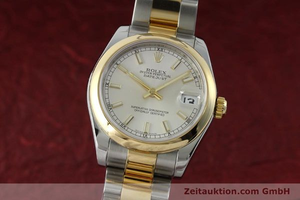 montre de luxe d occasion Rolex Lady Datejust acier / or  automatique Kal. 2235 Ref. 178243  | 151639 04