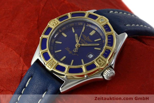Used luxury watch Breitling Lady J steel / gold quartz Kal. B52 ETA 956112 Ref. D52065  | 151646 01