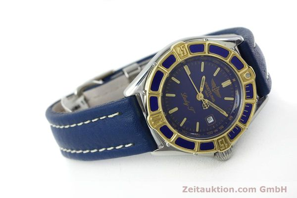 Used luxury watch Breitling Lady J steel / gold quartz Kal. B52 ETA 956112 Ref. D52065  | 151646 03