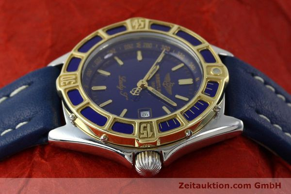 Used luxury watch Breitling Lady J steel / gold quartz Kal. B52 ETA 956112 Ref. D52065  | 151646 05