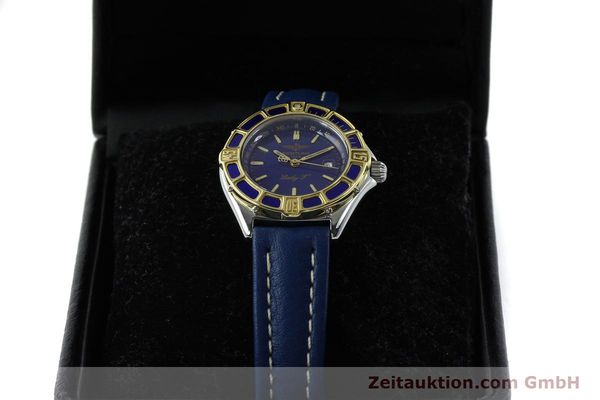 Used luxury watch Breitling Lady J steel / gold quartz Kal. B52 ETA 956112 Ref. D52065  | 151646 07