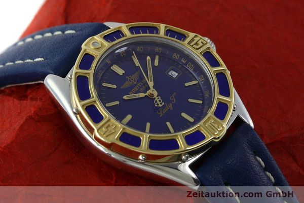 Used luxury watch Breitling Lady J steel / gold quartz Kal. B52 ETA 956112 Ref. D52065  | 151646 12