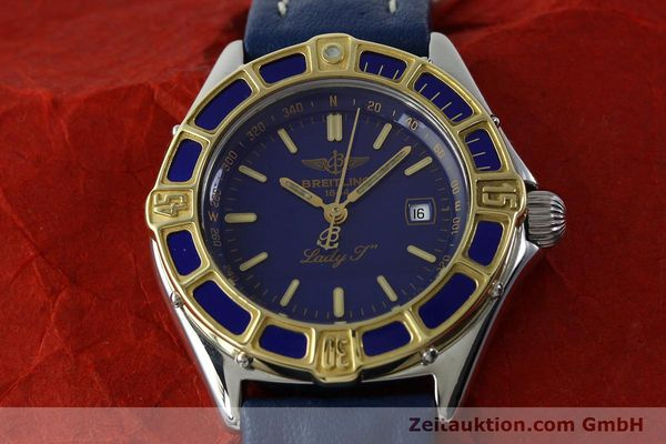 Used luxury watch Breitling Lady J steel / gold quartz Kal. B52 ETA 956112 Ref. D52065  | 151646 13