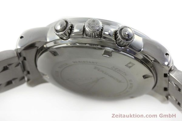 Used luxury watch Zenith Elprimero chronograph steel automatic Kal. 400 Ref. 02-0360-400  | 151647 08