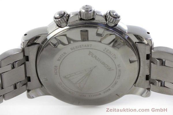 Used luxury watch Zenith Elprimero chronograph steel automatic Kal. 400 Ref. 02-0360-400  | 151647 09