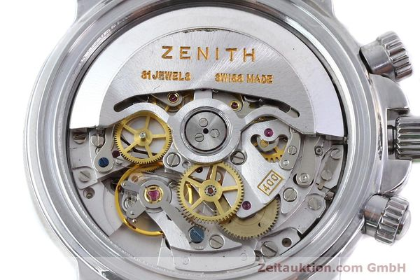 Used luxury watch Zenith Elprimero chronograph steel automatic Kal. 400 Ref. 02-0360-400  | 151647 10