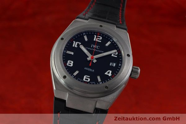 Used luxury watch IWC Ingenieur AMG titanium automatic Kal. 80110 Ref. 2327  | 151650 04