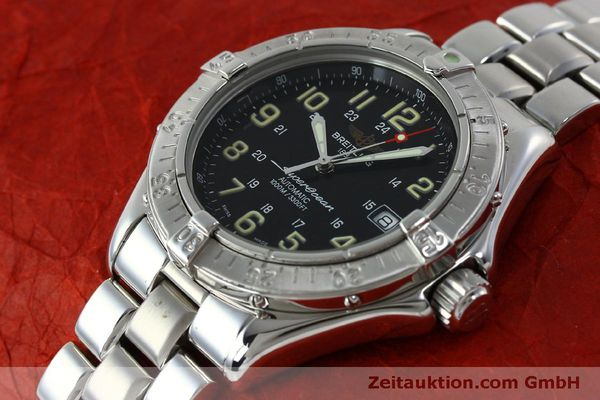 Used luxury watch Breitling Superocean steel automatic Kal. B17 ETA 2824-2 Ref. A17040  | 151651 01