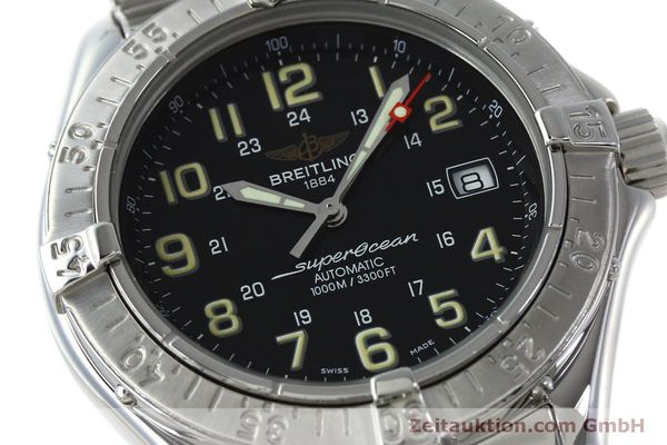 Used luxury watch Breitling Superocean steel automatic Kal. B17 ETA 2824-2 Ref. A17040  | 151651 02