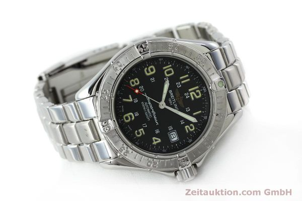 Used luxury watch Breitling Superocean steel automatic Kal. B17 ETA 2824-2 Ref. A17040  | 151651 03