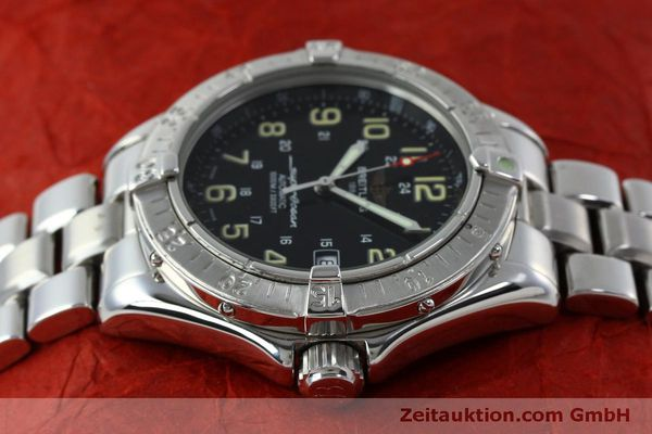 Used luxury watch Breitling Superocean steel automatic Kal. B17 ETA 2824-2 Ref. A17040  | 151651 05