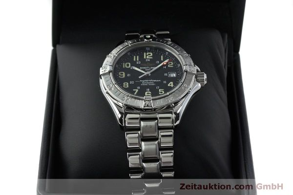 Used luxury watch Breitling Superocean steel automatic Kal. B17 ETA 2824-2 Ref. A17040  | 151651 07