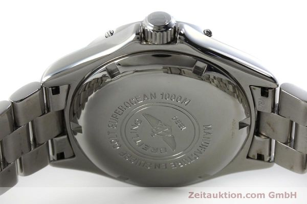 Used luxury watch Breitling Superocean steel automatic Kal. B17 ETA 2824-2 Ref. A17040  | 151651 09