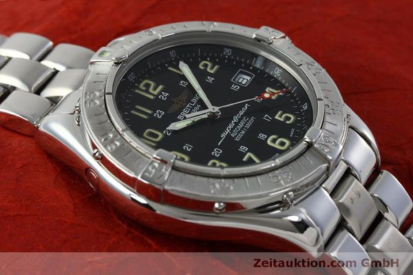 Used luxury watch Breitling Superocean steel automatic Kal. B17 ETA 2824-2 Ref. A17040  | 151651 14