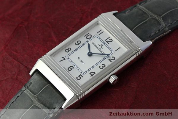 Used luxury watch Jaeger Le Coultre Reverso steel manual winding Kal. 846/1 Ref. 250.8.86  | 151653 01