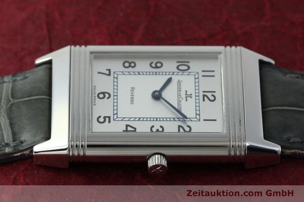 Used luxury watch Jaeger Le Coultre Reverso steel manual winding Kal. 846/1 Ref. 250.8.86  | 151653 05