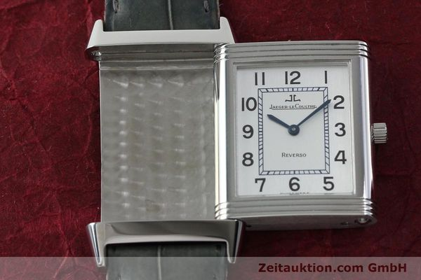 Used luxury watch Jaeger Le Coultre Reverso steel manual winding Kal. 846/1 Ref. 250.8.86  | 151653 14