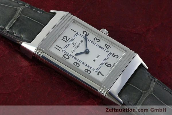Used luxury watch Jaeger Le Coultre Reverso steel manual winding Kal. 846/1 Ref. 250.8.86  | 151653 15