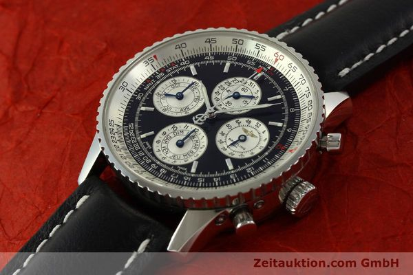 Used luxury watch Breitling Navitimer chronograph steel automatic Kal. ETA 2892-2 LIMITED EDITION | 151655 01
