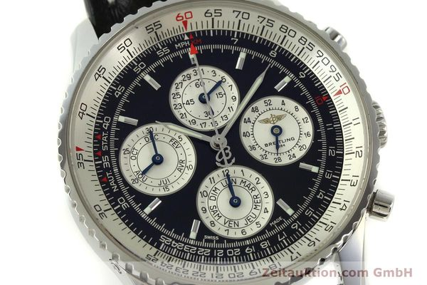 Used luxury watch Breitling Navitimer chronograph steel automatic Kal. ETA 2892-2 LIMITED EDITION | 151655 02