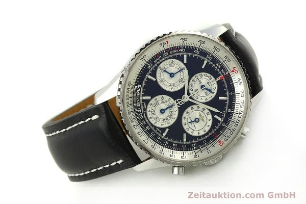 Used luxury watch Breitling Navitimer chronograph steel automatic Kal. ETA 2892-2 LIMITED EDITION | 151655 03
