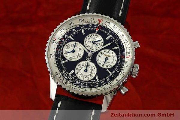 Used luxury watch Breitling Navitimer chronograph steel automatic Kal. ETA 2892-2 LIMITED EDITION | 151655 04