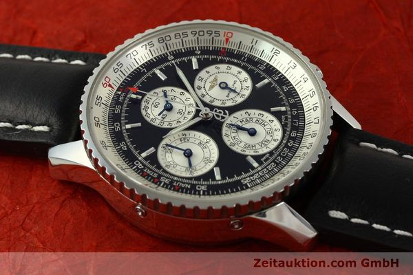 Used luxury watch Breitling Navitimer chronograph steel automatic Kal. ETA 2892-2 LIMITED EDITION | 151655 15