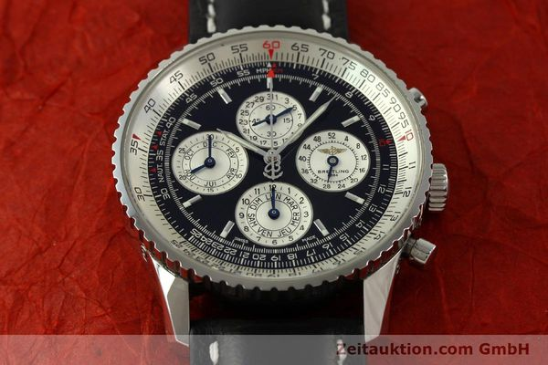 Used luxury watch Breitling Navitimer chronograph steel automatic Kal. ETA 2892-2 LIMITED EDITION | 151655 16