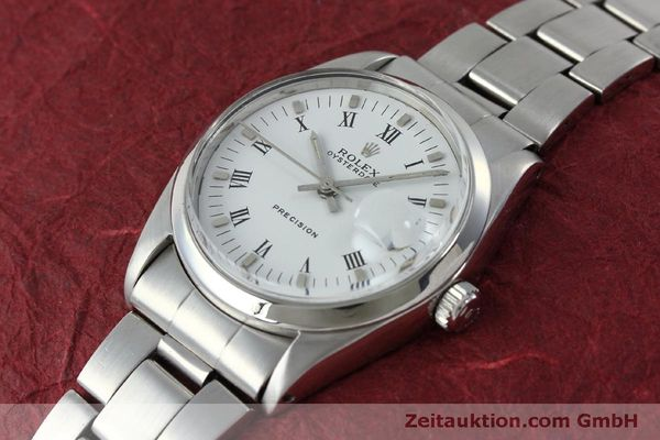 Used luxury watch Rolex Precision steel manual winding Kal. 1215  | 151660 01