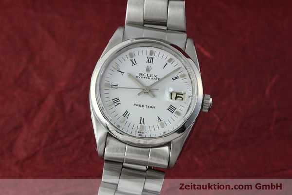 Used luxury watch Rolex Precision steel manual winding Kal. 1215  | 151660 04
