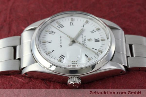 Used luxury watch Rolex Precision steel manual winding Kal. 1215  | 151660 05
