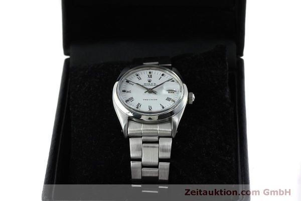 Used luxury watch Rolex Precision steel manual winding Kal. 1215  | 151660 07