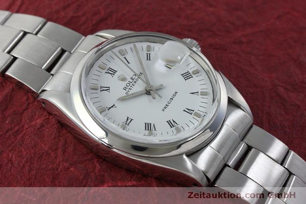 Used luxury watch Rolex Precision steel manual winding Kal. 1215  | 151660 14