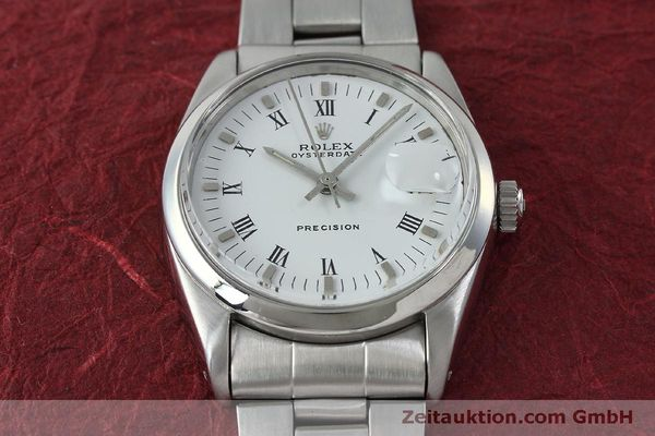 Used luxury watch Rolex Precision steel manual winding Kal. 1215  | 151660 15