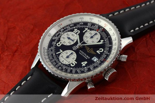 Used luxury watch Breitling Navitimer chronograph steel automatic Kal. B13 ETA 7750 Ref. A13322  | 151662 01