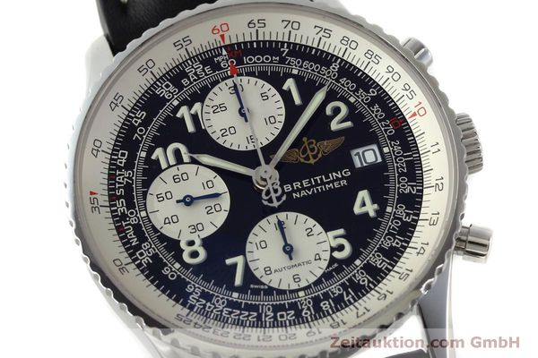Used luxury watch Breitling Navitimer chronograph steel automatic Kal. B13 ETA 7750 Ref. A13322  | 151662 02
