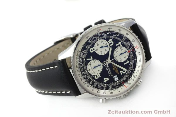Used luxury watch Breitling Navitimer chronograph steel automatic Kal. B13 ETA 7750 Ref. A13322  | 151662 03