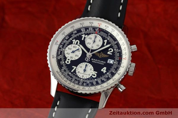 Used luxury watch Breitling Navitimer chronograph steel automatic Kal. B13 ETA 7750 Ref. A13322  | 151662 04