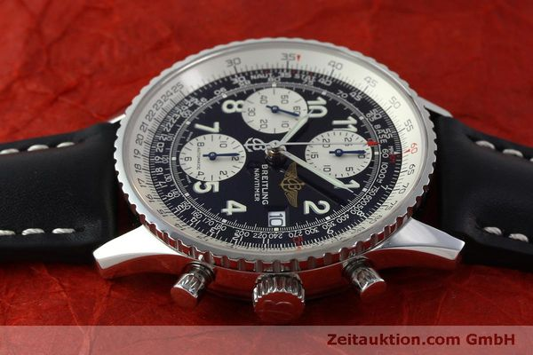 Used luxury watch Breitling Navitimer chronograph steel automatic Kal. B13 ETA 7750 Ref. A13322  | 151662 05