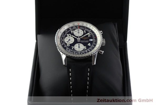 Used luxury watch Breitling Navitimer chronograph steel automatic Kal. B13 ETA 7750 Ref. A13322  | 151662 07