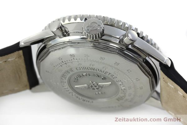 Used luxury watch Breitling Navitimer chronograph steel automatic Kal. B13 ETA 7750 Ref. A13322  | 151662 08