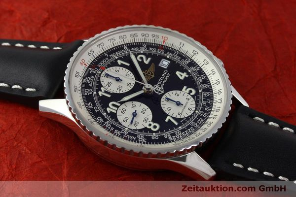 Used luxury watch Breitling Navitimer chronograph steel automatic Kal. B13 ETA 7750 Ref. A13322  | 151662 13