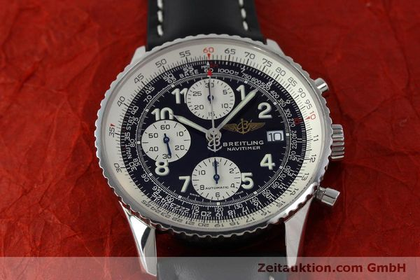 Used luxury watch Breitling Navitimer chronograph steel automatic Kal. B13 ETA 7750 Ref. A13322  | 151662 14