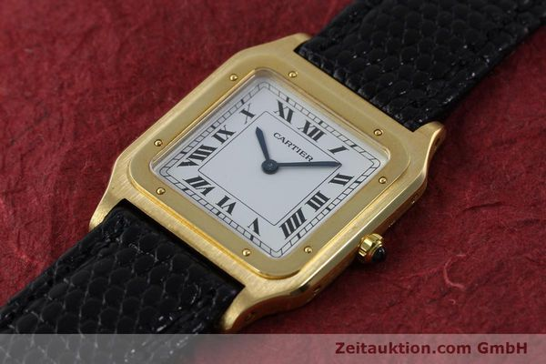 Used luxury watch Cartier Panthere 18 ct gold manual winding Kal. 21  | 151663 01