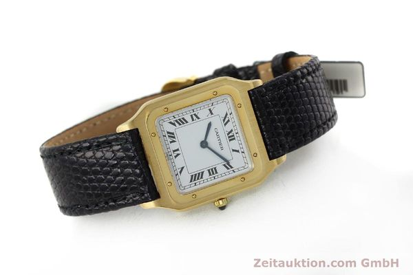 Used luxury watch Cartier Panthere 18 ct gold manual winding Kal. 21  | 151663 03