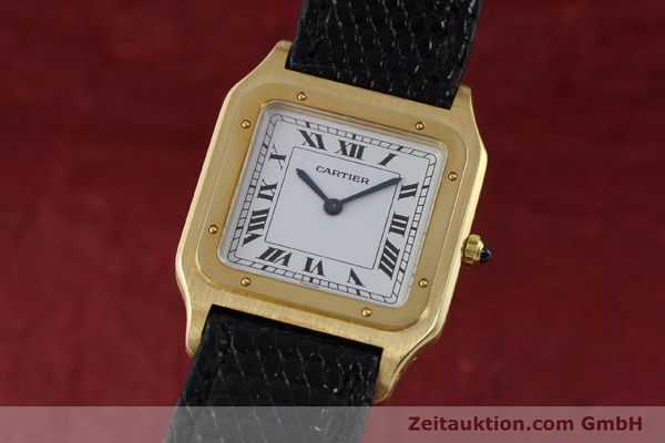 Used luxury watch Cartier Panthere 18 ct gold manual winding Kal. 21  | 151663 04