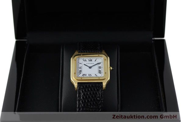 Used luxury watch Cartier Panthere 18 ct gold manual winding Kal. 21  | 151663 07