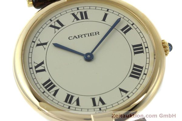 Used luxury watch Cartier * 18 ct gold quartz Kal. 81  | 151665 02
