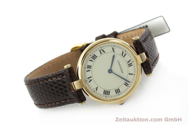 Used luxury watch Cartier * 18 ct gold quartz Kal. 81  | 151665 03